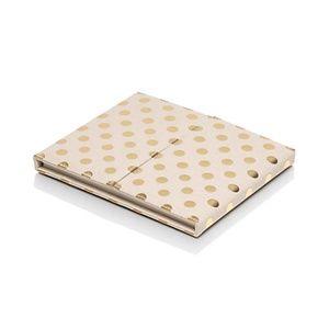 kate spade polka dot desktop weekly calendar folio